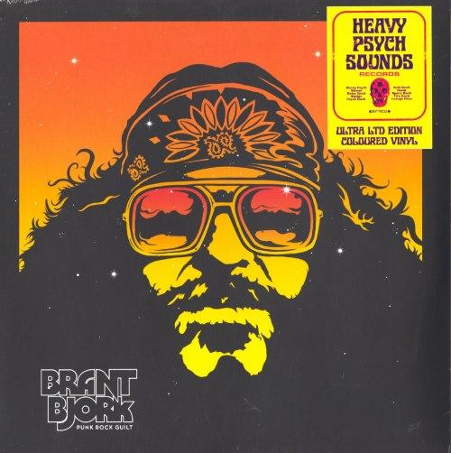 Brant Bjork - Punk Rock Guilt - Ultra Limited Edition, Orange Splatter, Vinyl, LP, Heavy Psych Sounds, 2020