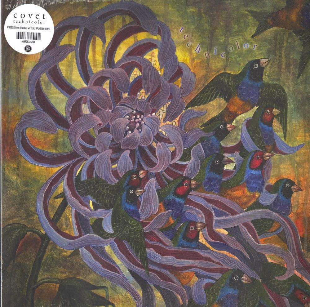 Covet - Technicolor - Limited Edition, Orange and Teal Splatter, Colored Vinyl, Triple Crown, 2020
