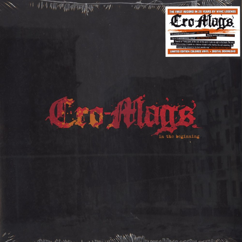 Cro-Mags - In The Beginning - Limited Edition, Colored Vinyl, Mission Two Ent, 2020