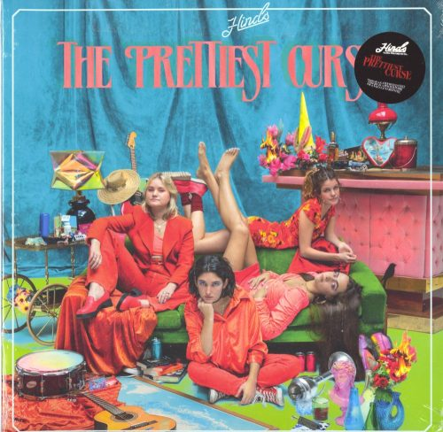 Hinds - The Prettiest Curse - Limited Edition, Transparent Red, Colored Vinyl, Mom & Pop Music, 2020