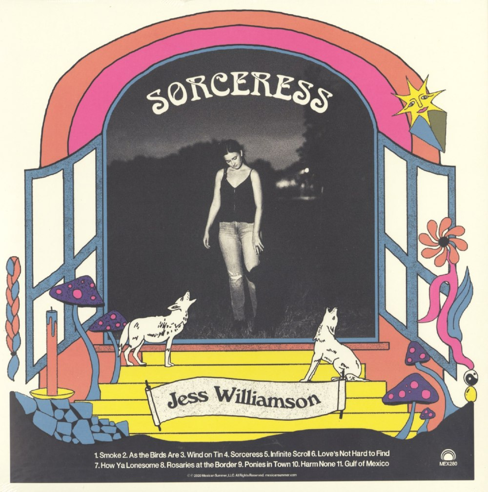 Jess Williamson - Sorceress - Limited Edition, Crystal Ball Colored Vinyl, LP, Mexican Summer, 2020