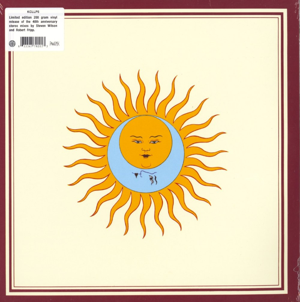King Crimson – Larks Tongues In Aspic – Limited Edition, 200 Gram, Vinyl, LP, Remixed, 2020
