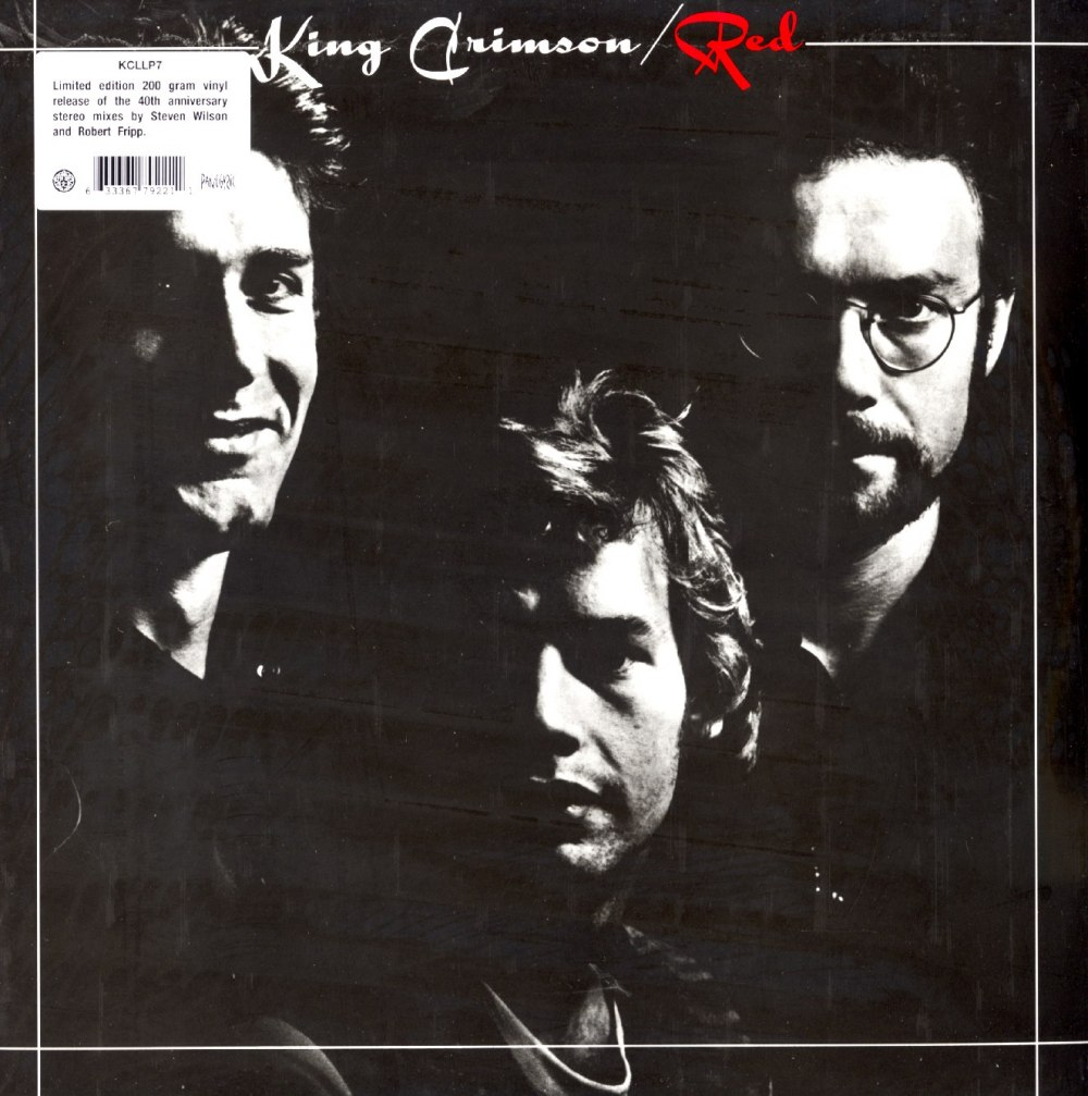 King Crimson – Red – Limited Edition, 200 Gram, Vinyl, LP, Remixed, 2020