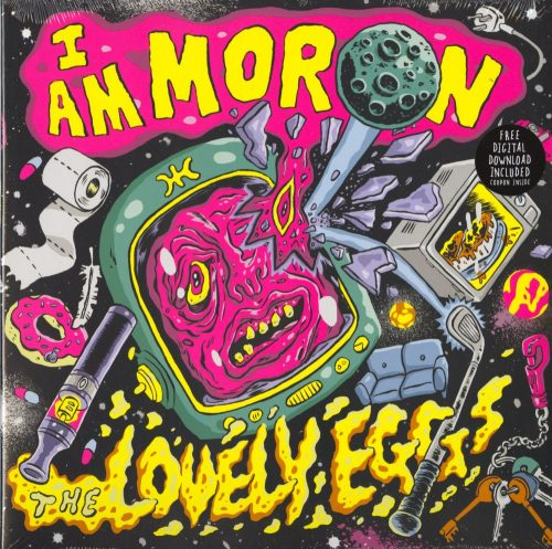 Lovely Eggs - I Am A Moron - Yellow, Colored Vinyl, LP, Egg Records, 2020