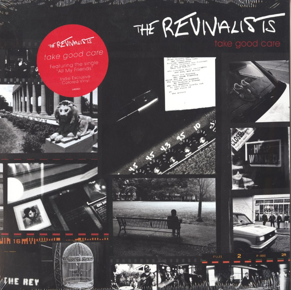 "Revivalists - Take Good Care - Limited Edition, Red, Colored Vinyl, Bonus 7"", Loma Vista, 2018"