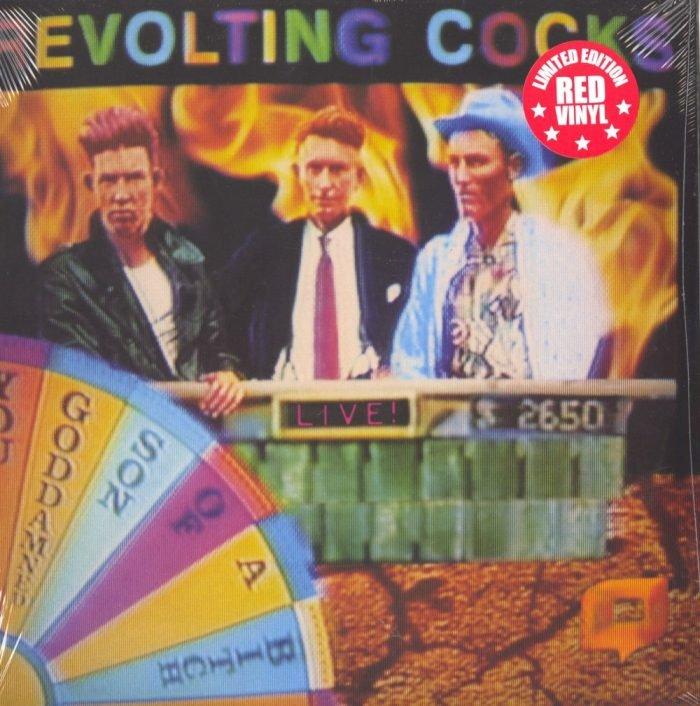 Revolting Cocks - Live! You GDSOB - Ltd Ed, Red, Double Vinyl, Reissue, Cleopatra, 2019