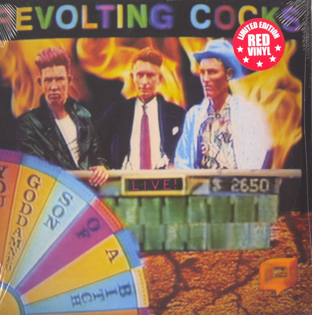 Revolting Cocks - Live! You GDSOB - Ltd Ed, Red, Double Vinyl, Reissue, Cleopatra, 2019