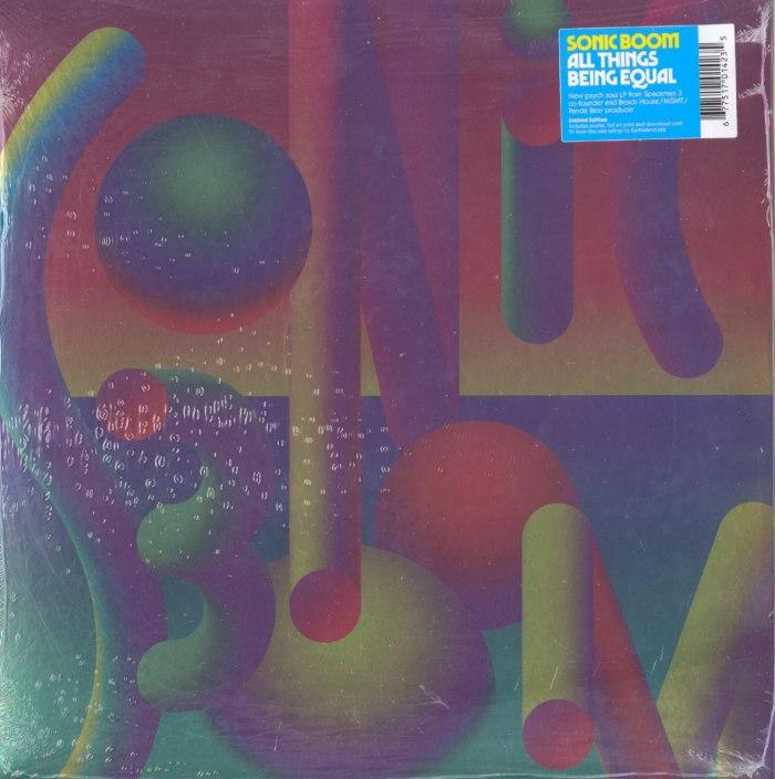 Sonic Boom - All Things Being Equal - Ltd Ed, Black Vinyl, LP, Foil Jacket, Poster, Print, Carpark, 2020