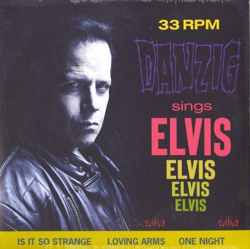 Danzig - Sings Elvis - Black Vinyl, LP, Gatefold Jacket, Cleopatra, 2020
