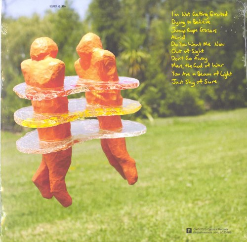 Beths - Jump Rope Gazers - Tangerine Colored Vinyl, LP, Carpark Records, 2020