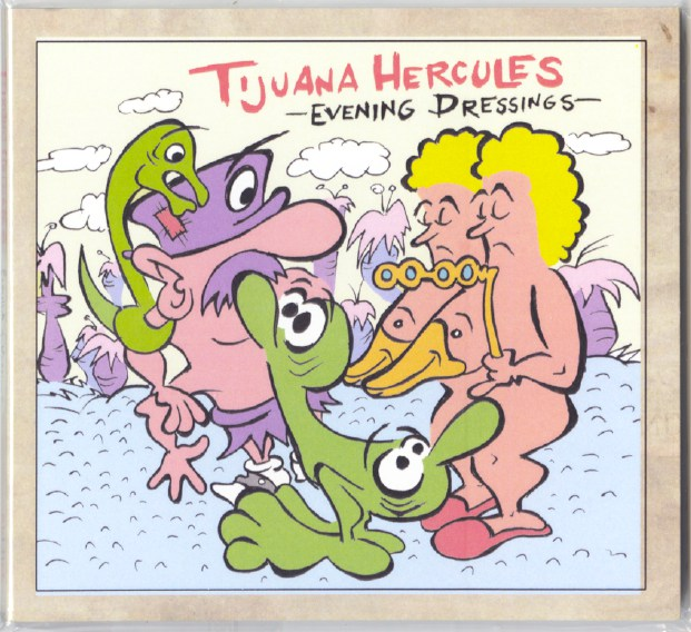Tijuana Hercules - Evening Dressings - CD, Compact Disc, Skin Graft Records, 2020