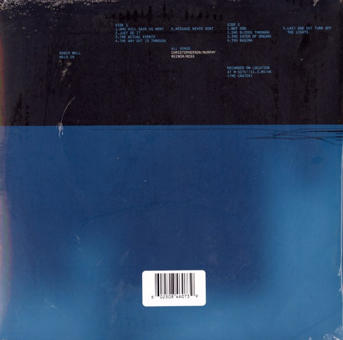 Watchmen: Volume 3 - Trent Reznor, Atticus Ross, Vinyl, LP, Music From The HBO Series, The Null Corporation, 2020