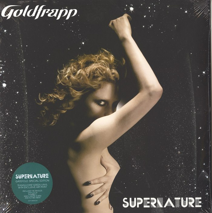 Goldfrapp - Supernature - Limited Edition, Translucent Green, Colored Vinyl, Reissue, Mute Records, 2020