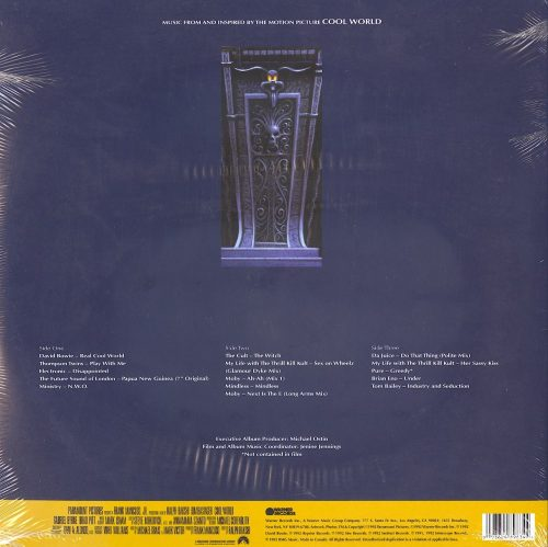 Cool World O.S.T. - Song From The Cool World - Various Artists, Double Vinyl, LP, Warner Records, 2020