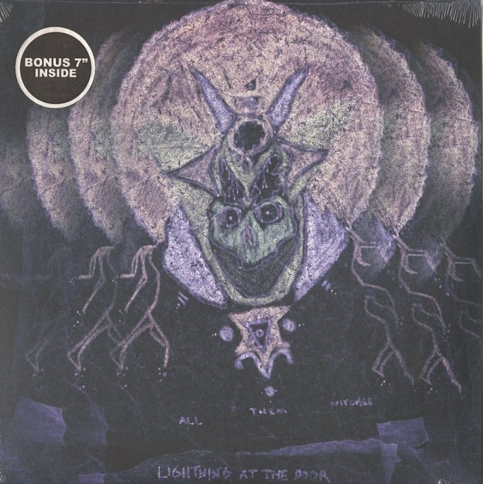 """All Them Witches - Lightning At The Door - Limited Edition, Colored Vinyl, Bonus 7"""" Single, New West Records, 2016"""