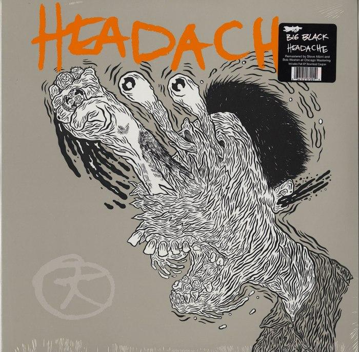 Big Black - Headache - Vinyl, EP, Remastered, Touch & Go Records, 2018