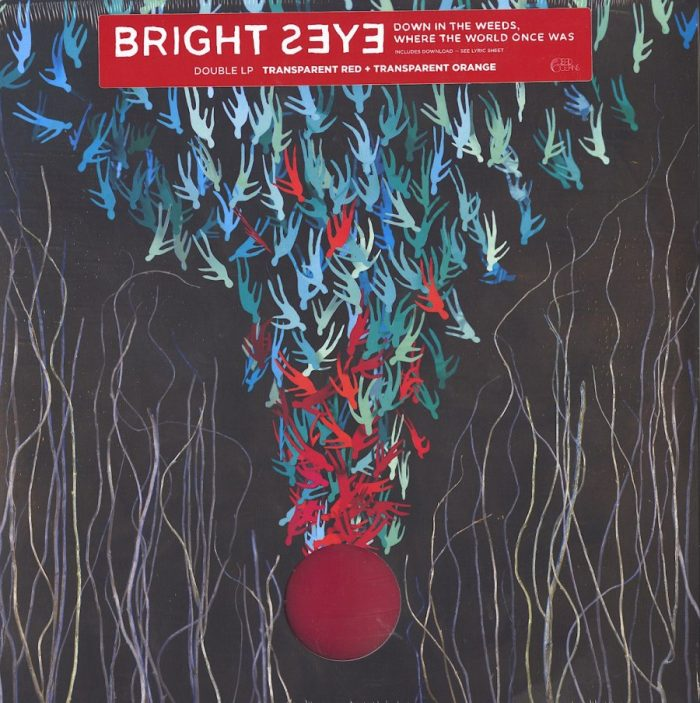 Bright Eyes - Down in the Weeds, Where the World Once Was - Ltd Ed, Red/Orange Colored Vinyl, Dead Oceans, 2020