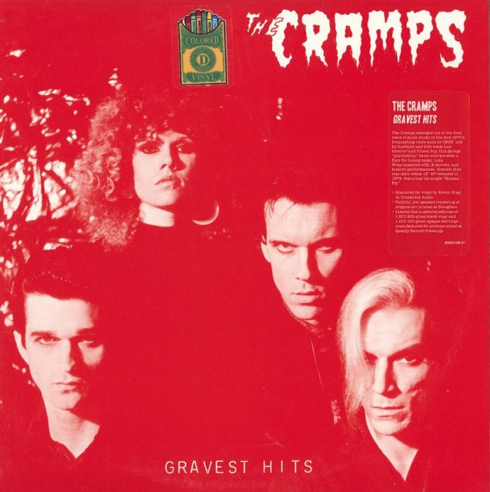 The Cramps - Gravest Hits - Limited Edition, Red, Colored Vinyl, Drastic Plastic, 2018