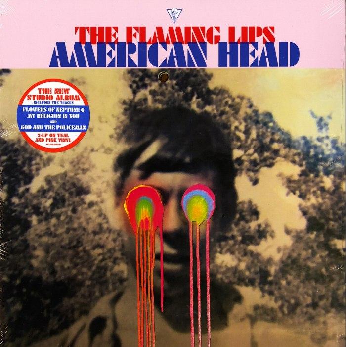 Flaming Lips - American Head - Ltd Ed, 2XLP, Pink, Blue, Colored Vinyl, Warner, 2020