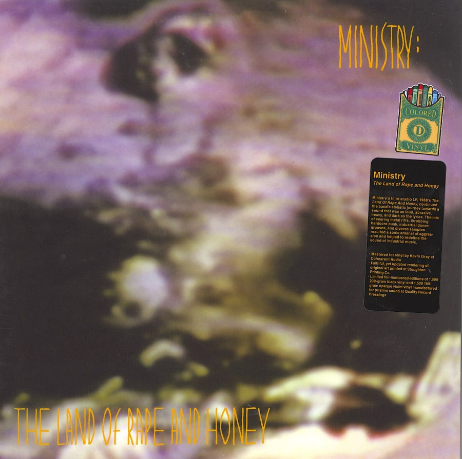 Ministry - Land Of Rape And Honey - Limited Edition, Violet, Colored Vinyl, LP, Drastic Plastic, 2015