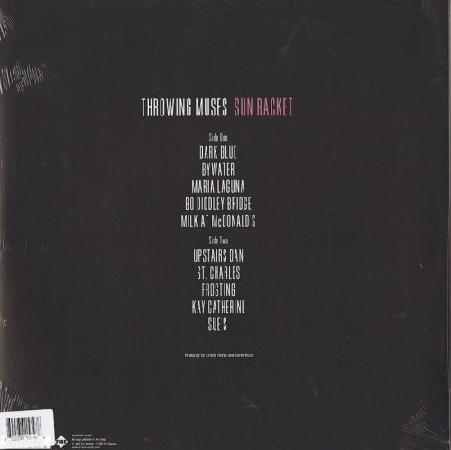 Throwing Muses - Run Racket - Limited Edition, Violet, Colored Vinyl, Die-Cut Jacket, Fire Records, 2020