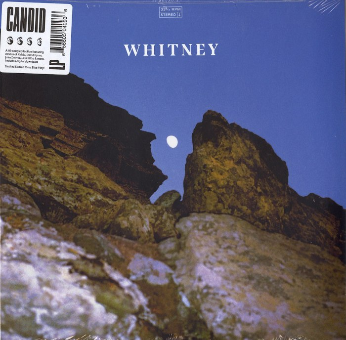 Whitney - Candid - Limited Edition, Clear Blue, Colored Vinyl, Secretly Canadian, 2020