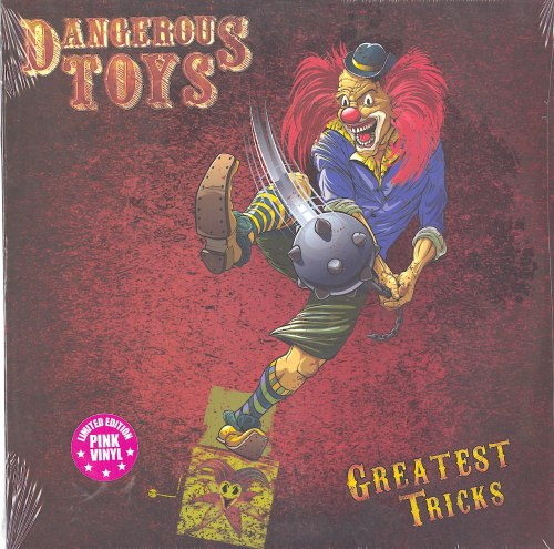 Dangerous Toys - Greatest Tricks - Limited Edition, Pink, Colored Vinyl, Reissue, Deadline, 2020