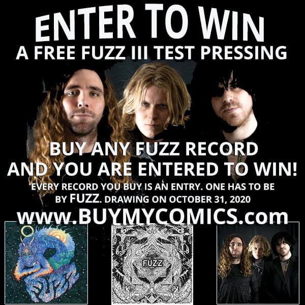 Fuzz III Test Pressing Giveaway