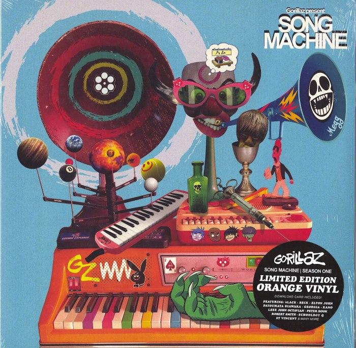 Gorillaz - Song Machine, Season One - Limited Edition, Orange, Colored Vinyl, LP, Warner, 2020