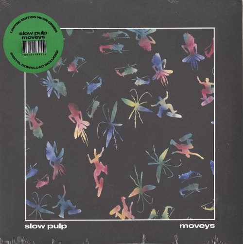Slow Pulp - Moveys - Limited Edition, Neon Green, Colored Vinyl, LP, Winspear, 2020