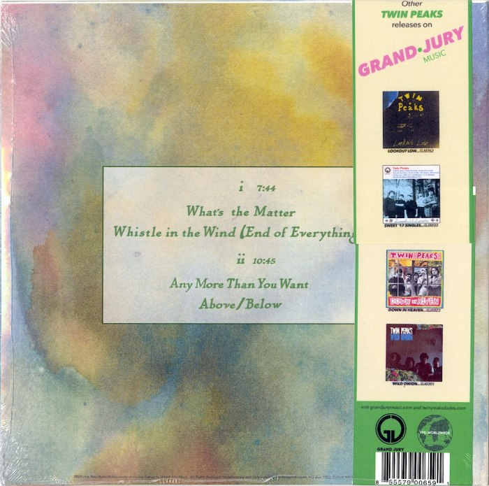 """Twin Peaks - Side A - Limited Edition, Pink, Colored Vinyl, 10"""", Grand Jury, 2020"""