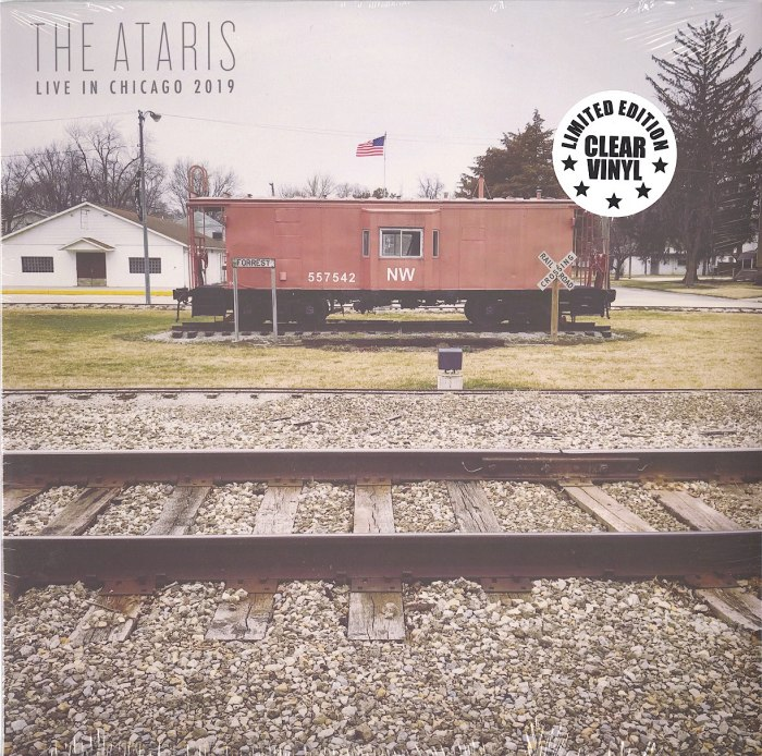 Ataris - Live In Chicago 2019 - Limited Edition, Clear, Colored Vinyl, LP, Kung Fu Records, 2020
