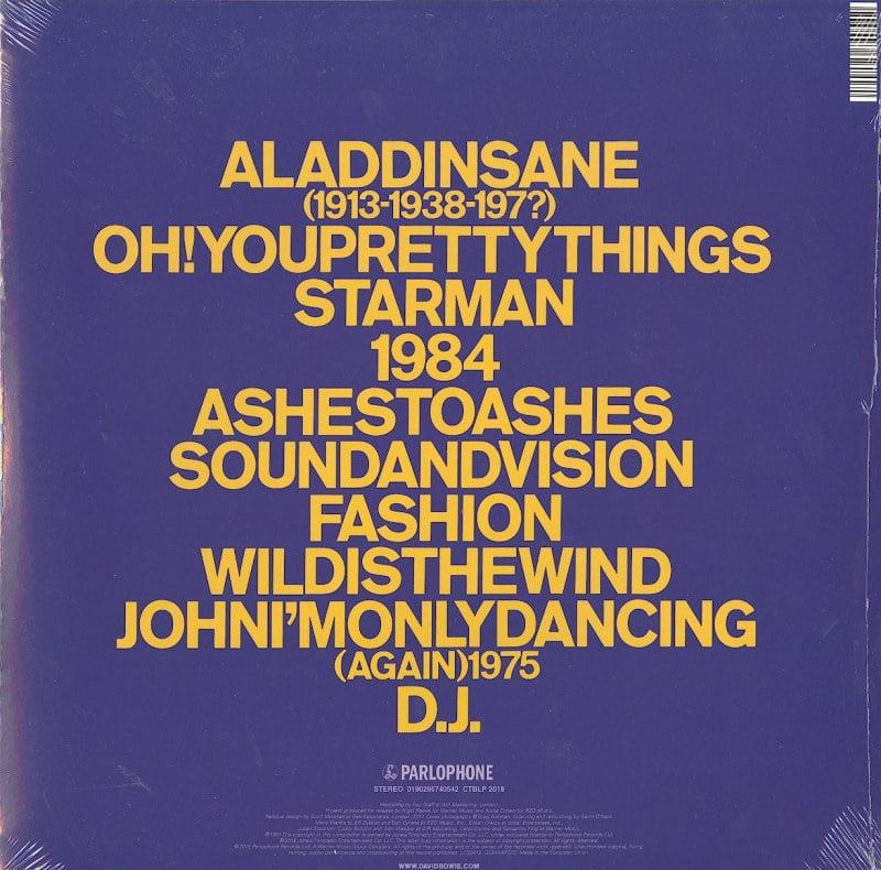 David Bowie - ChangesTwoBowie - Vinyl, LP, Remastered, Rhino, 2018