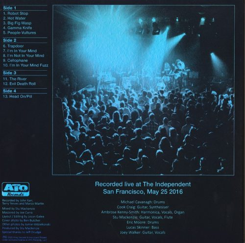 King Gizzard And The Lizard Wizard - Live In San Francisco '16 - Deluxe Edition, Colored Vinyl, 2XLP, ATO Records, 2020