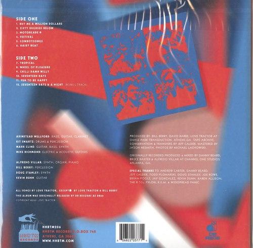 Love Tractor - Love Tractor - Vinyl, LP, Remixed, HBTM, 2020