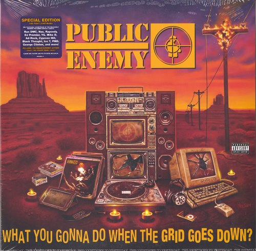 Public Enemy - What You Gonna Do When The Grid Goes Down? - Vinyl, LP, Def Jam, 2020