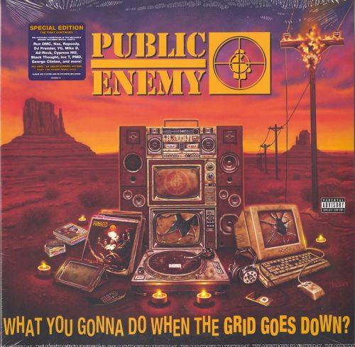 Public Enemy - What You Gonna Do When The Grid Goes Down? - Vinyl, LP, Def Jam, 2020
