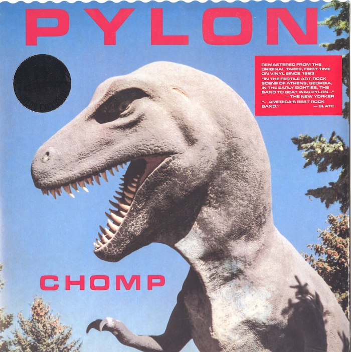 Pylon - Chomp - Limited Edition, Red, Colored Vinyl, LP, Remastered, New West Records, 2020