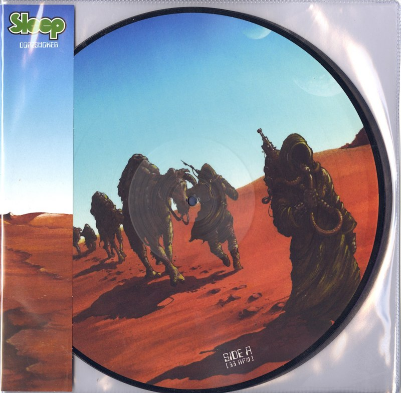 Sleep - Dopesmoker - Limited Edition, 2XLP Vinyl Picture Discs, Southern Lord Records, 2020