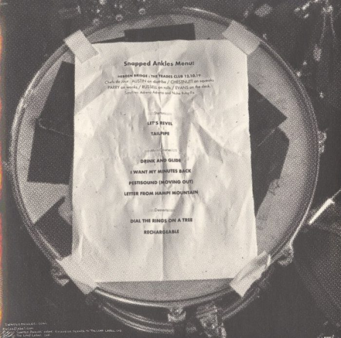 Snapped Ankles - 21 Metres To Hebden Bridge - Ltd Ed, Leaf Green, Colored Vinyl, LP, The Leaf Label, 2020
