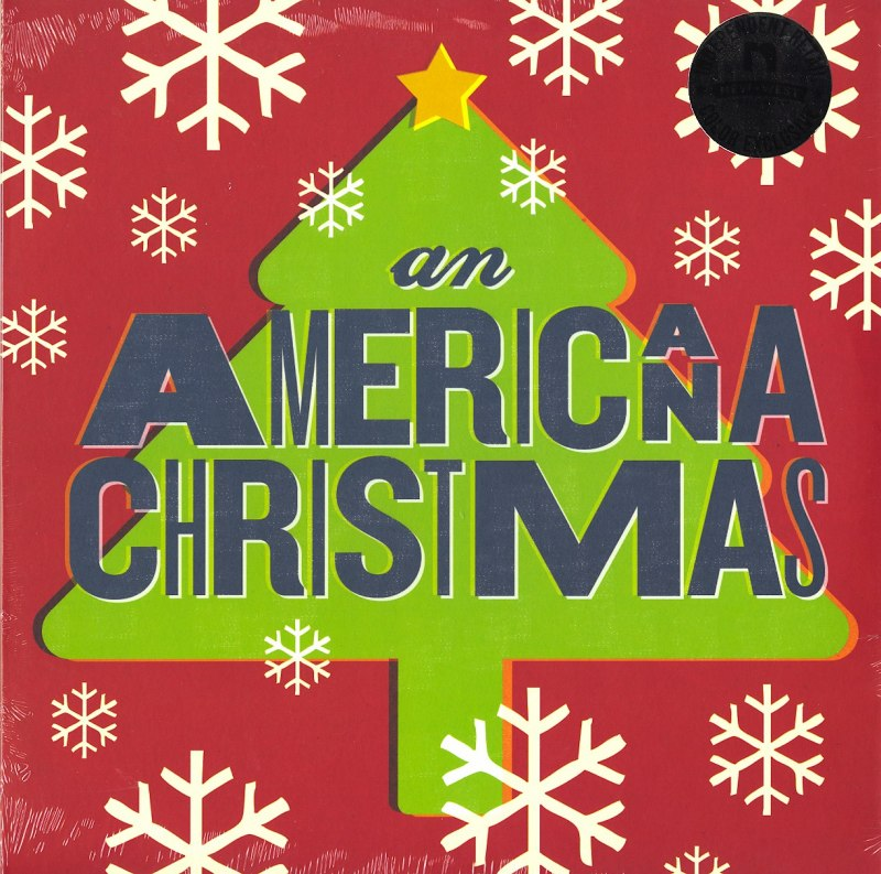 Various Artists – An Americana Christmas – Limited Edition, Red and Green Splatter, Vinyl, LP, New West Records, 2020