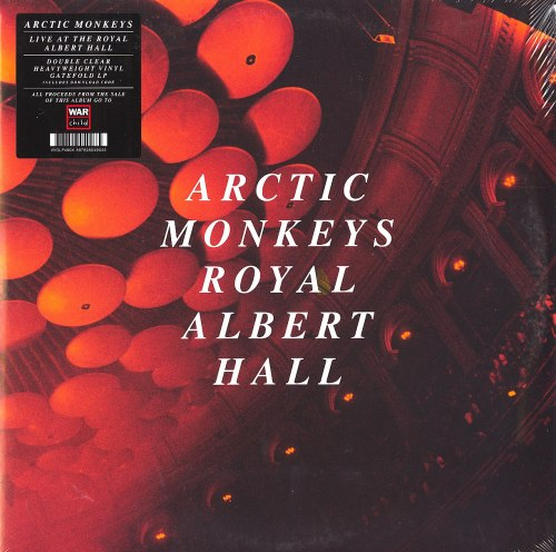 Arctic Monkeys - Live at the Royal Albert Hall - Limited Edition, Clear, Double Vinyl, LP, Domino, 2020