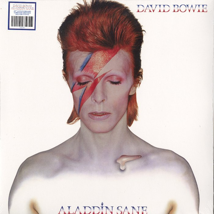 David Bowie - Aladdin Sane - 45th Anniversary Edition, Silver, Colored Vinyl, Parlophone, 2018