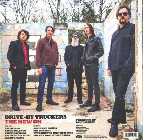 Drive-By Truckers - The New Ok - Limited Edition, Red, Colored Vinyl, LP, ATO Records, 2020