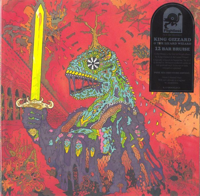King Gizzard and the Lizard Wizard - 12 Bar Bruise - Green, Colored Vinyl, LP, Reissue, Flightless, 2018