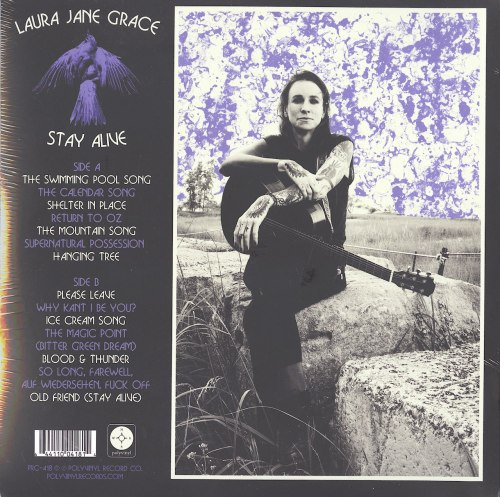 Laura Jane Grace - Stay Alive - Limited Edition, Lapis Lazuli Blue, Colored Vinyl, Polyvinyl Records, 2020