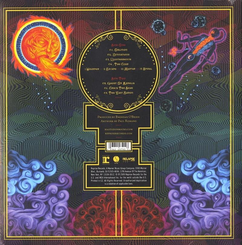 Mastodon - Crack the Skye - 180 Gram Vinyl, LP, Reprise, WEA, 2009