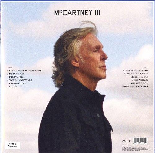 Paul McCartney - III - 180 Gram Vinyl, LP, Gatefold, Capitol Records, 2020