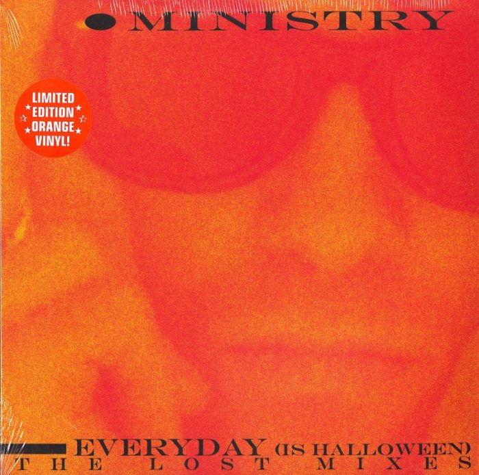 """Ministry - Every Day Is Halloween (The Lost Mixes) - 12"""" Maxi-Single, Colored Vinyl, Cleopatra Records, 2020"""