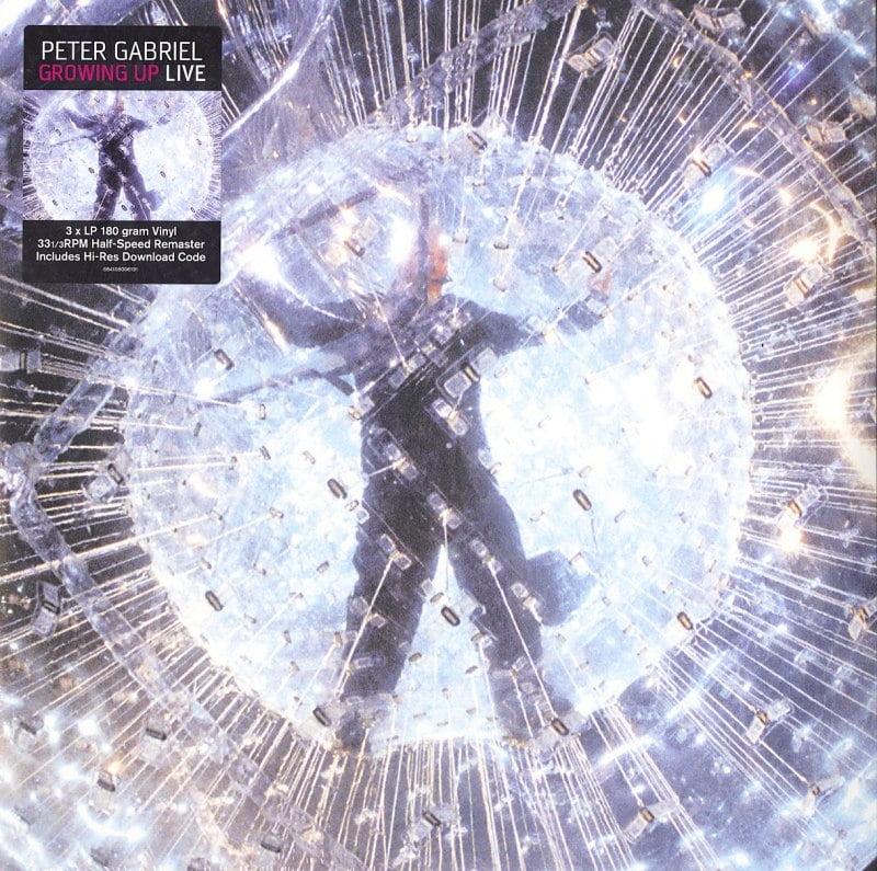 Peter Gabriel - Growing Up Live - Half Speed Remaster 3XLP, Vinyl, Real World, 2020
